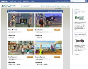 new! vivaty social scenes